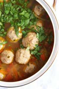 %name Meatball and Vegetable Soup