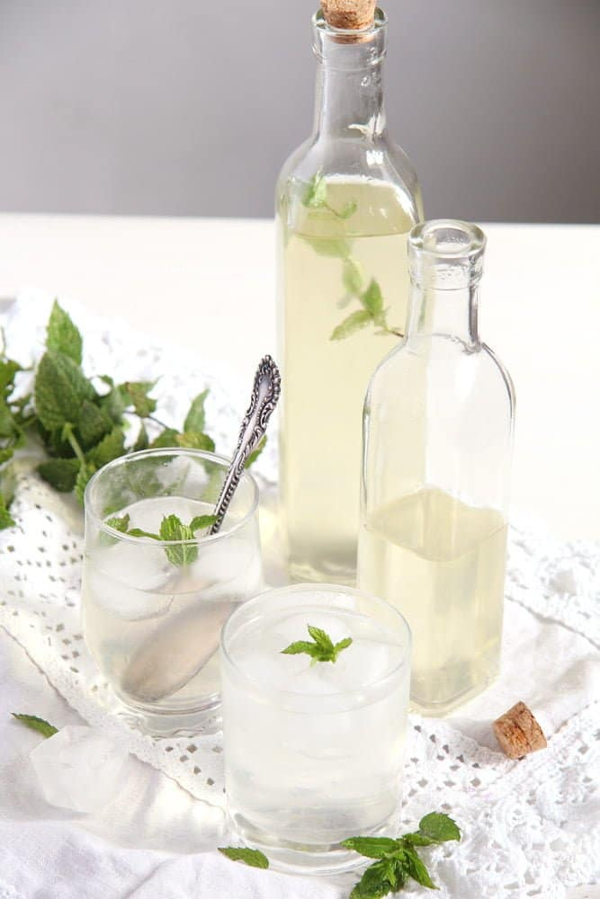 mint syrup Simple and Delicious Fresh Mint Syrup with Lemons