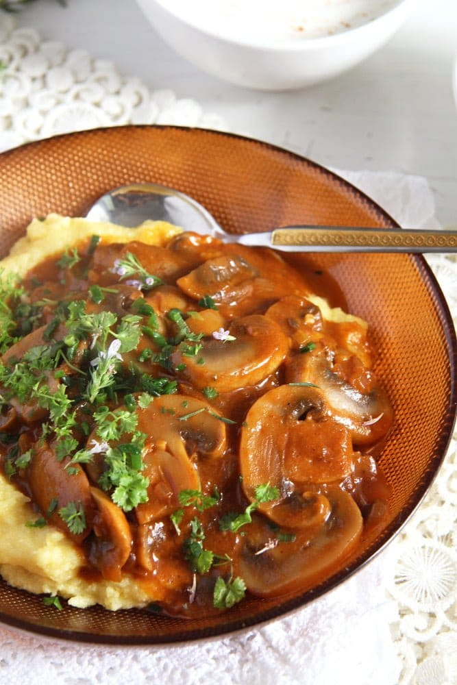 mushroom stew Easy and Delicious Mushroom Stew with Herbs