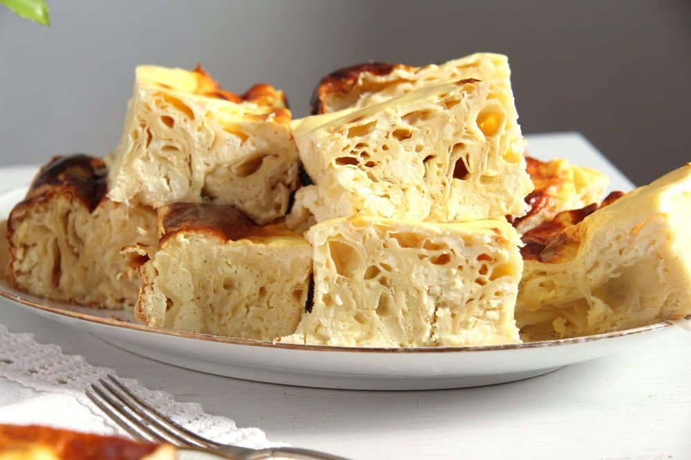 pie cheese yufka Savory Cheese Pie with Quark, Feta and Yogurt