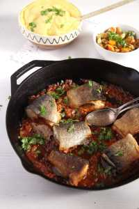 %name Aromatic Skillet Trout with Onions and Whole Peppercorns