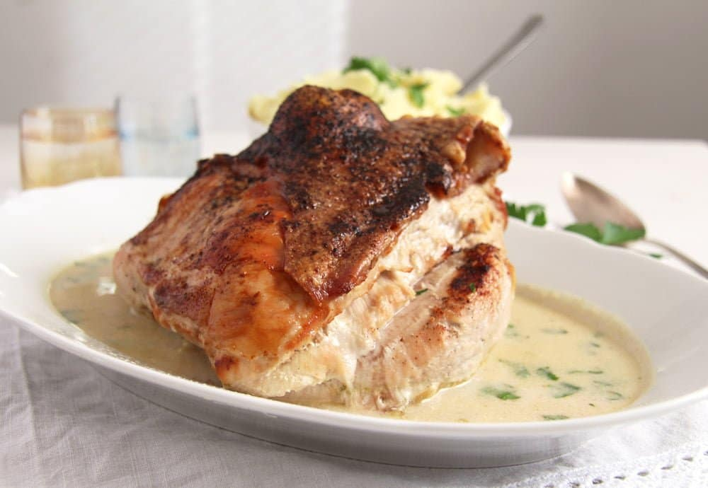 turkey breast Basic Recipe for Tender Oven Roasted Turkey Breast