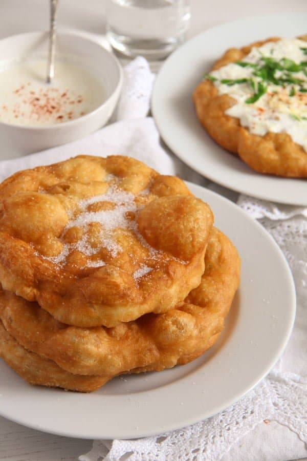 Hungarian Langos 3 Hungarian Fried Bread – Quick Homemade Langos