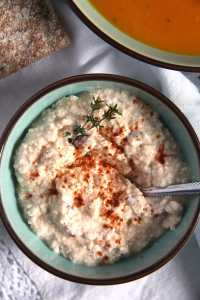%name Hungarian Dip or Spread with Feta, Paprika and Caraway Seeds