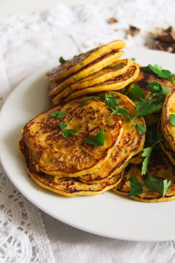 pumpkin fritters ed 4 Easy Savory Butternut Squash or Pumpkin Fritters