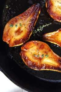 %name Easy Roasted Pears with Balsamic Vinegar and Honey