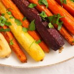 The Easiest Recipe for Whole Roasted Carrots with Olive Oil