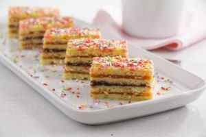 %name Layered Cake with Jam Filling – Romanian Cake Harlequin
