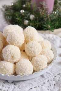 %name Three Ingredient Homemade Raffaello Coconut Almond Balls