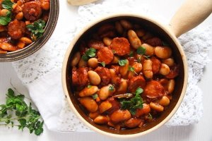 %name Easy White Bean and Cabanossi Sausage Stew – Polish Recipe