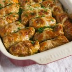 Vegan Cabbage Rolls Stuffed with Amaranth and Sweet Potatoes