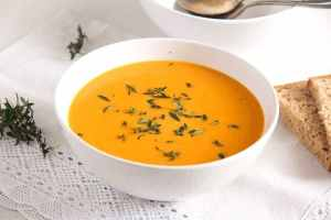 %name Simple and Delicious Creamy Carrot Soup with Milk