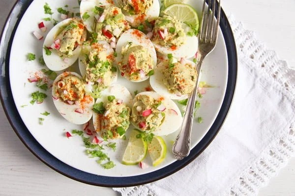 stuffed eggs mexican