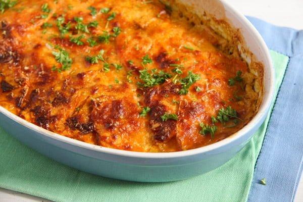sweet potato stew 2 Easy Sweet Potato Gratin with Parmesan