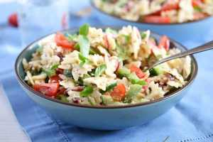 %name Greek Pasta Salad – with Green Bell Pepper and Feta