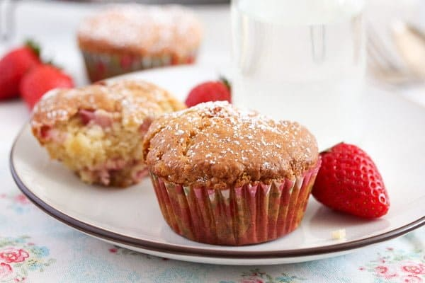 strawberry muffins easy recipe