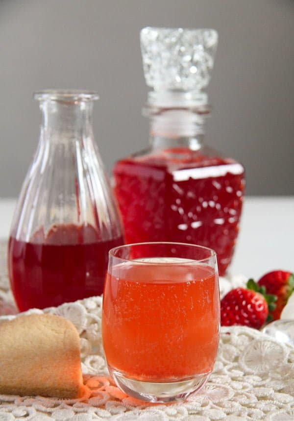 strawberry syrup 4 How to Make a Simple Strawberry Syrup   with Ginger