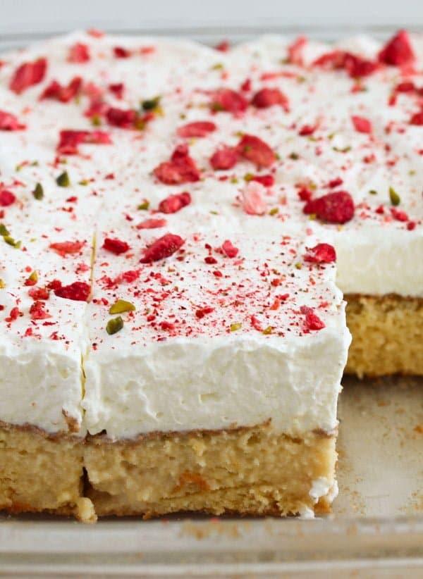 tres leches cake 8 Tres Leches Cake – Mexican Dessert Recipe