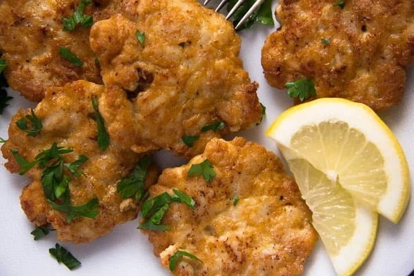 chicken fritters 1 Tender Chicken Breast Fritters or Patties– Russian Food