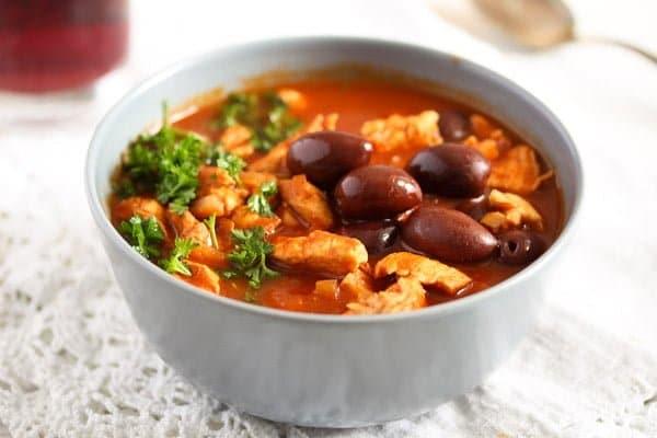 chicken stew Moroccan style