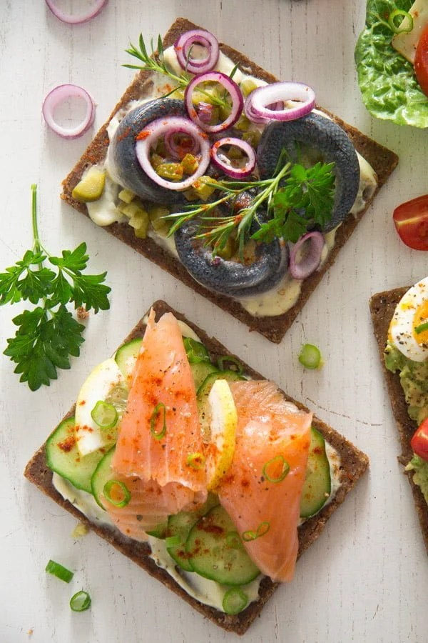 smorrebrod 16 Open Faced Sandwiches – Smørrebrød – Danish Food