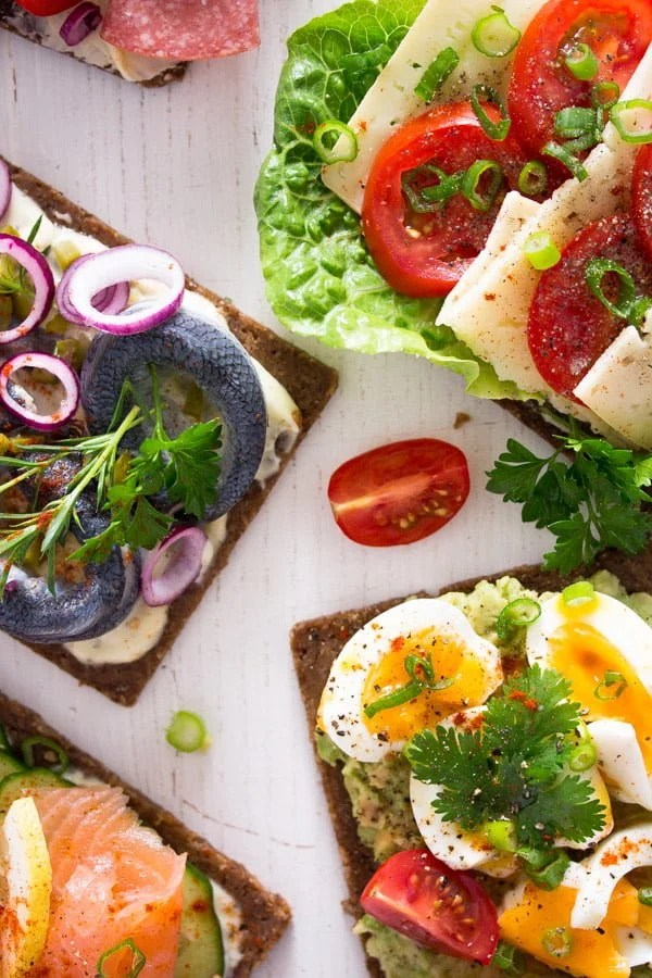 smorrebrod 18 Open Faced Sandwiches – Smørrebrød – Danish Food