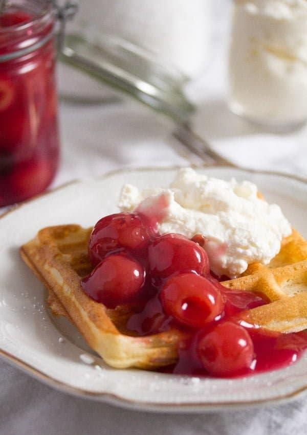 belgian waffles 4 Homemade Belgian Waffle Recipe – Belgian Food