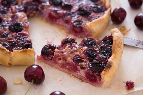 cherry tart 9 Swiss Fresh Cherry Tart or Flan – Kirschwähe – Swiss Food