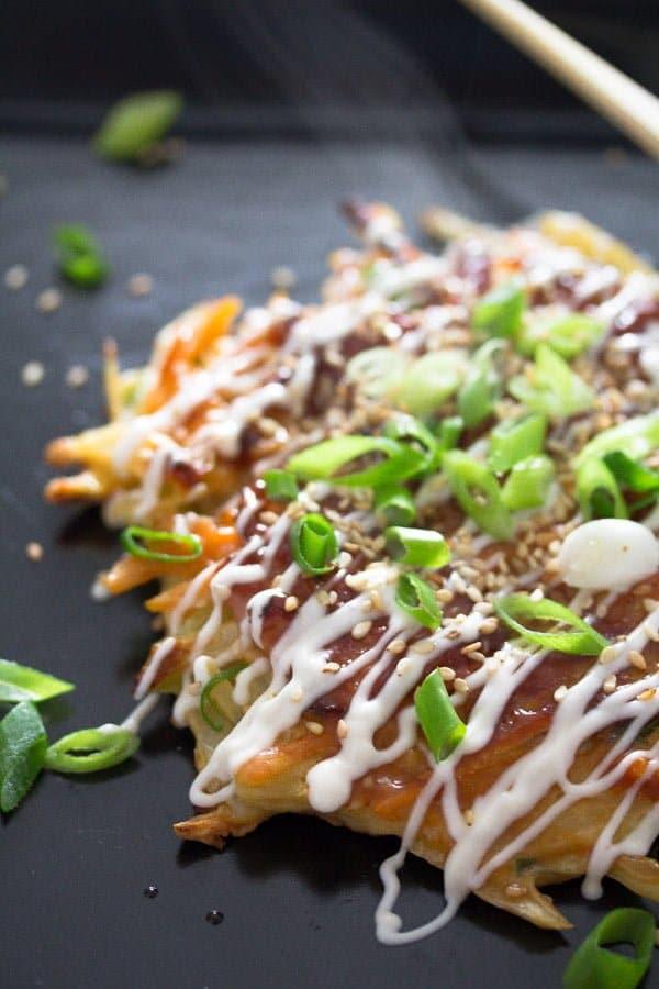 okonomiyaki 3 Okonomiyaki – Japanese Cabbage Pancakes – Japanese Food