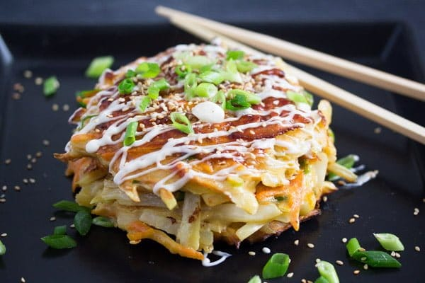 okonomiyaki 5 Okonomiyaki – Japanese Cabbage Pancakes – Japanese Food