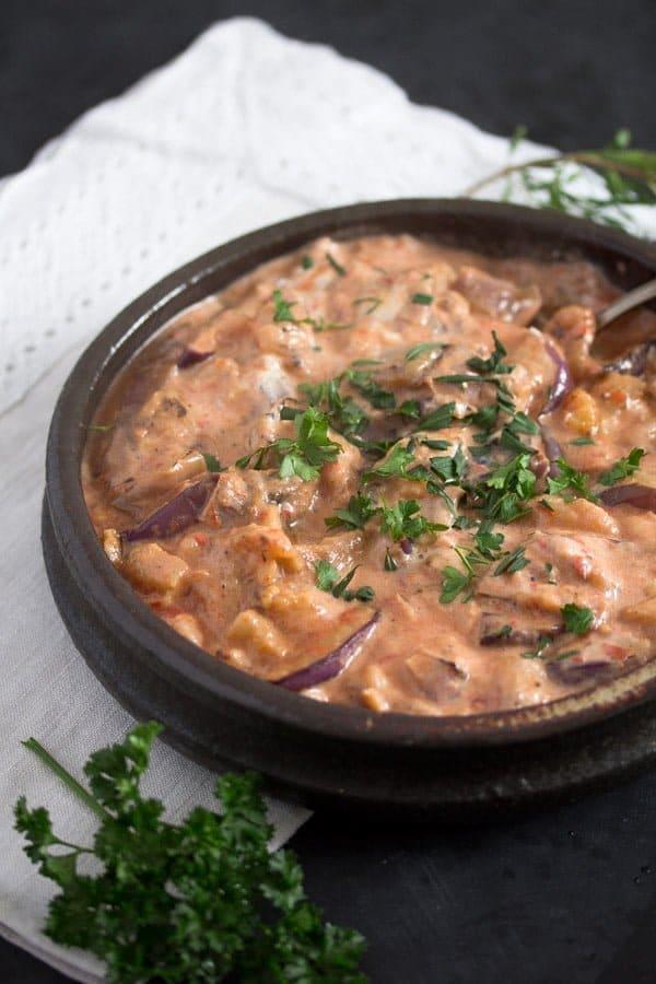 eggplants iranian 2 Persian Eggplant Dip with Tomatoes – Iranian Food