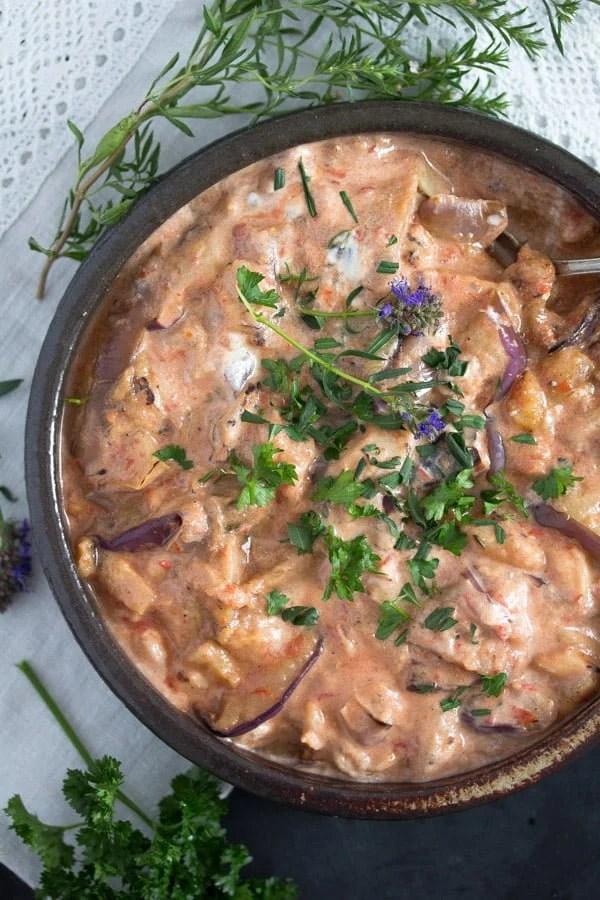 eggplants iranian 4 Persian Eggplant Dip with Tomatoes – Iranian Food