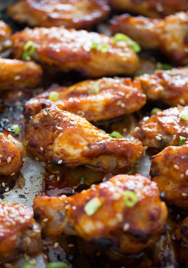 korean chicken wings 4 Korean Chicken Wings in the Oven with Gochujang – Korean Food