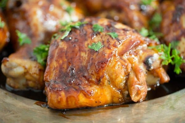Roasted Lime Chicken with Honey Soy Sauce Marinade