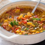 %name Easy Pork Stew Recipe – Hungarian Goulash with Pork and Potatoes