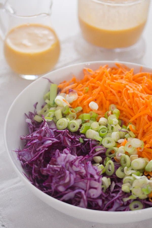 IMG 2160 Red Cabbage Slaw with CBD Oil Infused Peach Salad Dressing