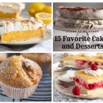 15 favorite cakes and desserts - where is my spoon