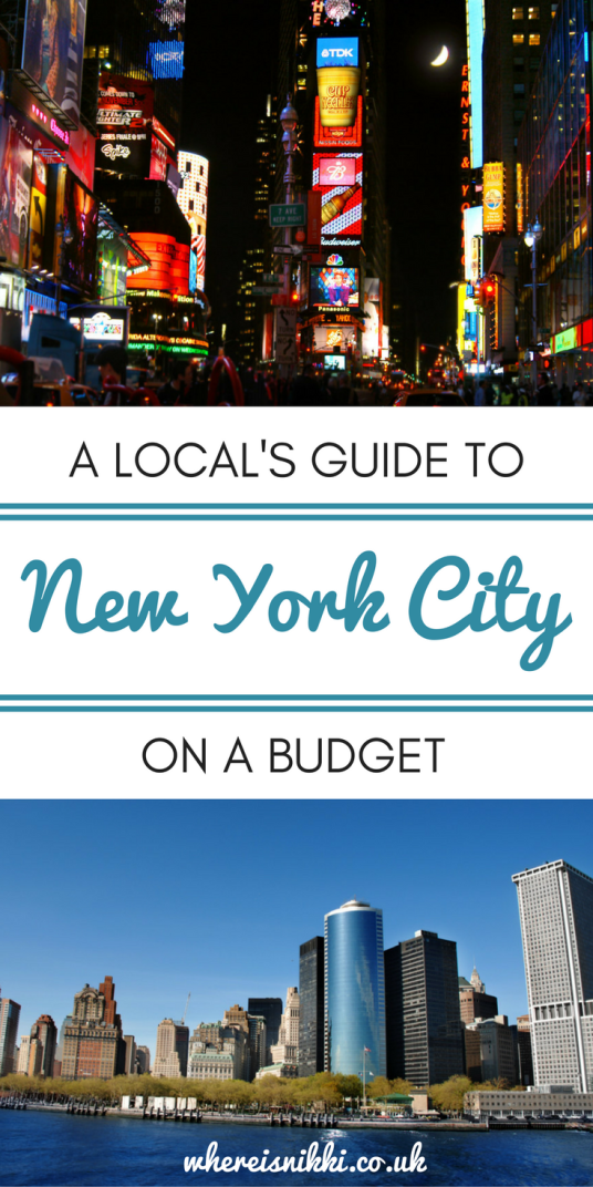 A Local's Guide to New York City on a Budget