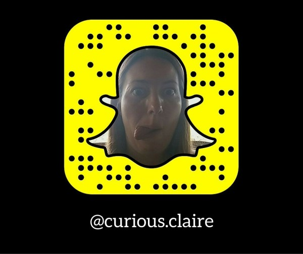 Curious Clare Snapchat