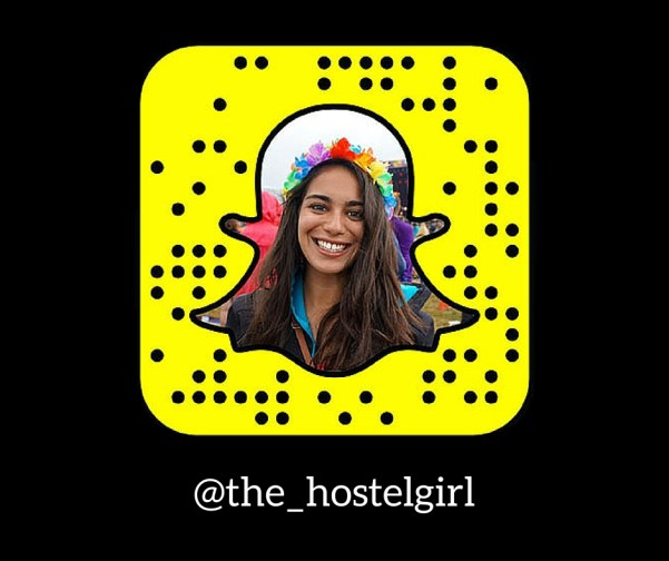 The Hostel Girl Snapchat