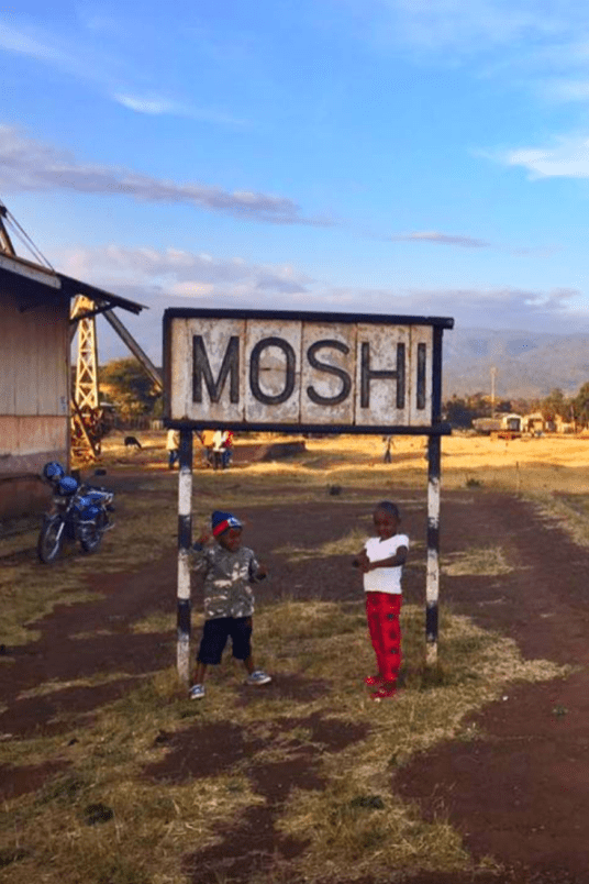 Old Railway Station, Moshi