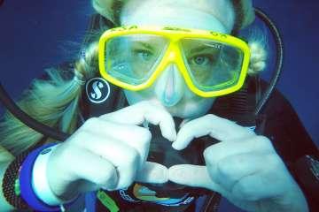 PADI, scuba, dive, sea, underwater
