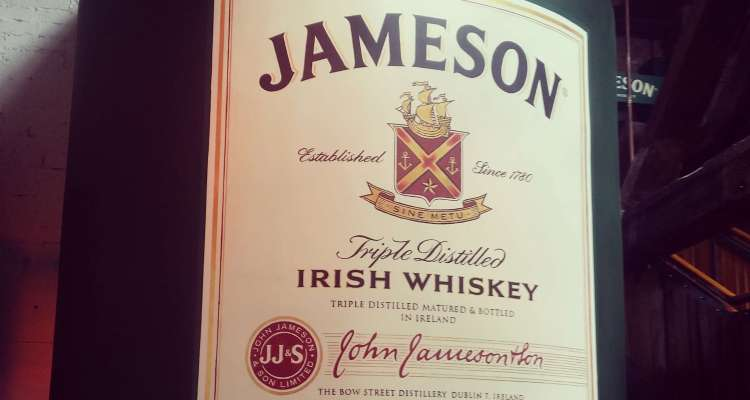 jameson factory dublin whiskey