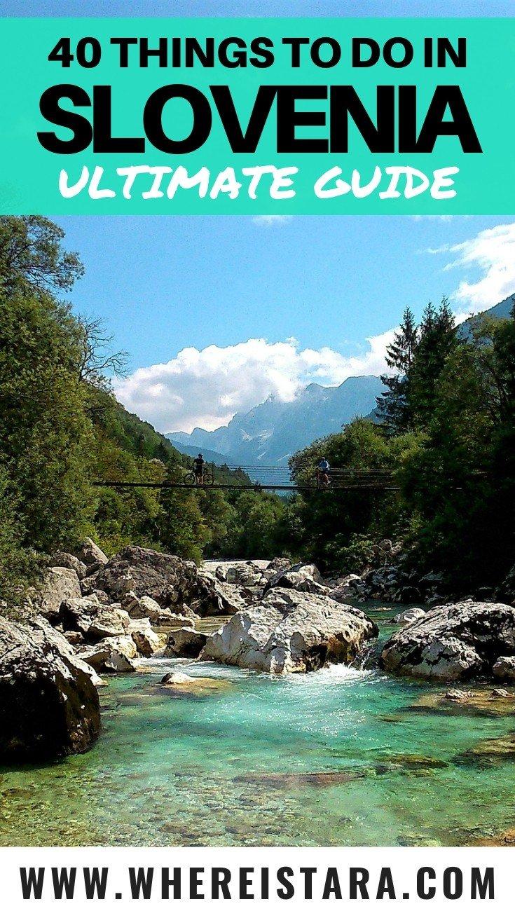 things to do in Slovenia where is tara pin