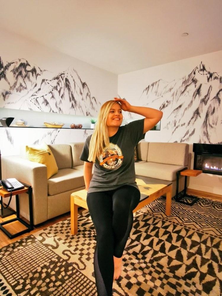 Tenaya Lodge suite Yosemite