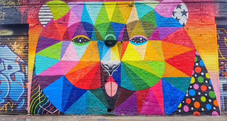 brick lane street art london things to do in London where is tara povey top irish travel blogger