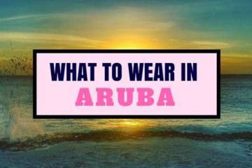 what to wear in aruba
