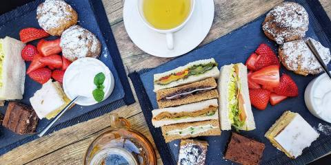 la suite west vegan afternoon tea london