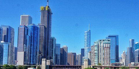 3 days in Chicago city break skyline