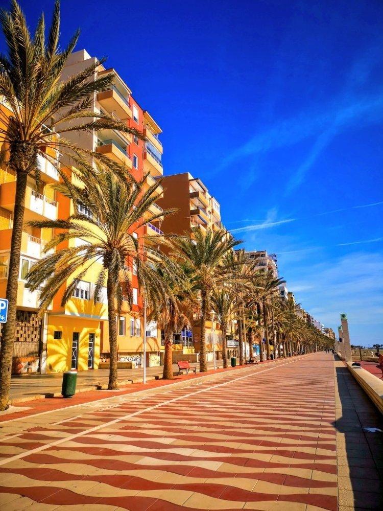 Zapillo Beach in Almeria Spain